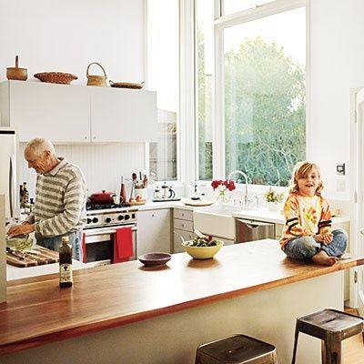 Küchenfenster ohne Scheiben lassen so viel mehr Licht ein … – Hartmann Hartma   – Deutch | Sosyal Penguin