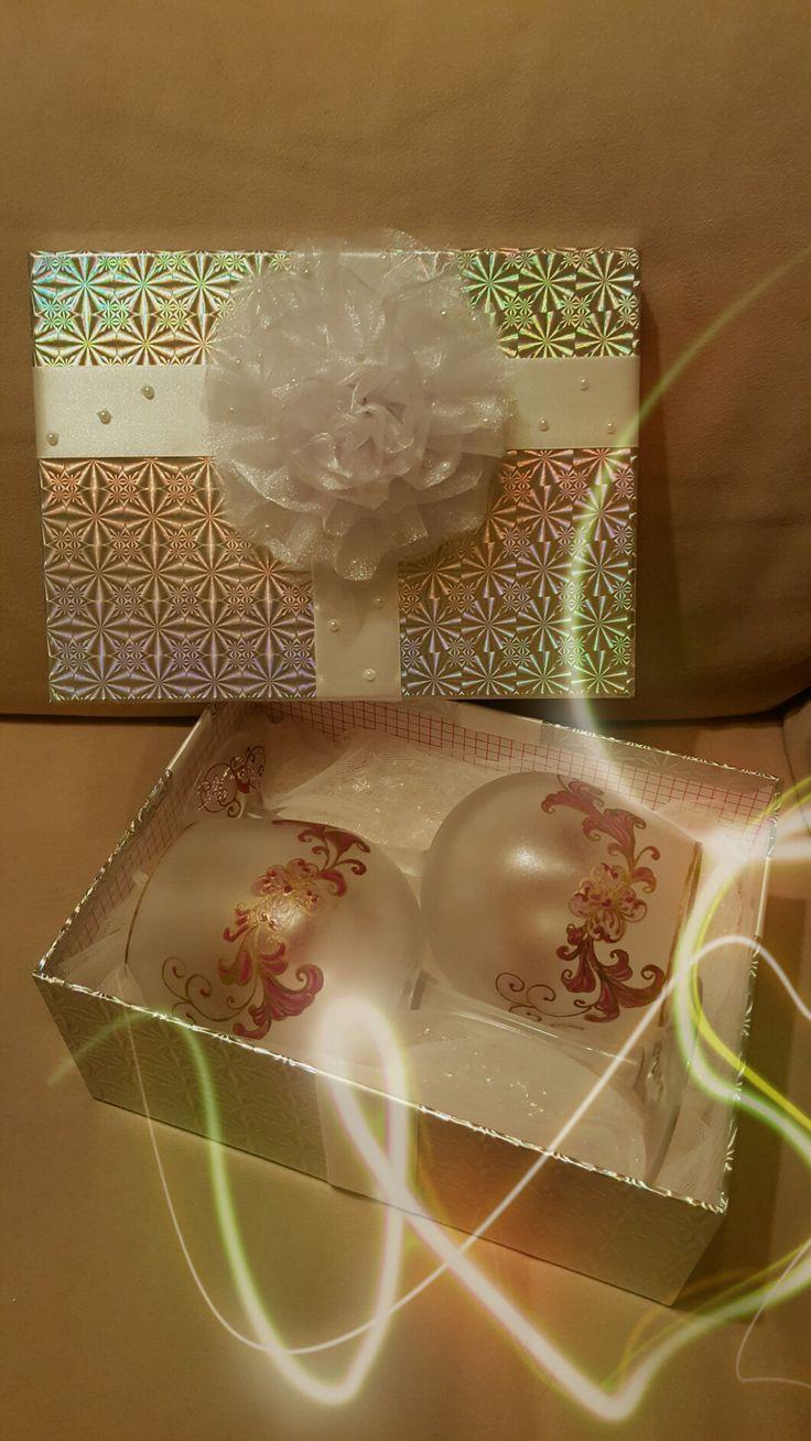 calici decorati e confezionati per matrimonio
