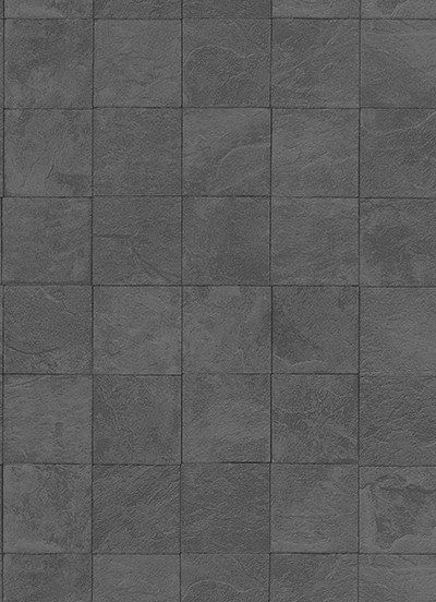 Sample Tile Wallpaper In Neutrals And Black Design By Bd