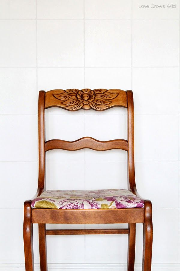 Dining Chair Makeover - How to Strip, Paint, and Recover Chairs - Best 25+ Recover Chairs Ideas Only On Pinterest Reupholster