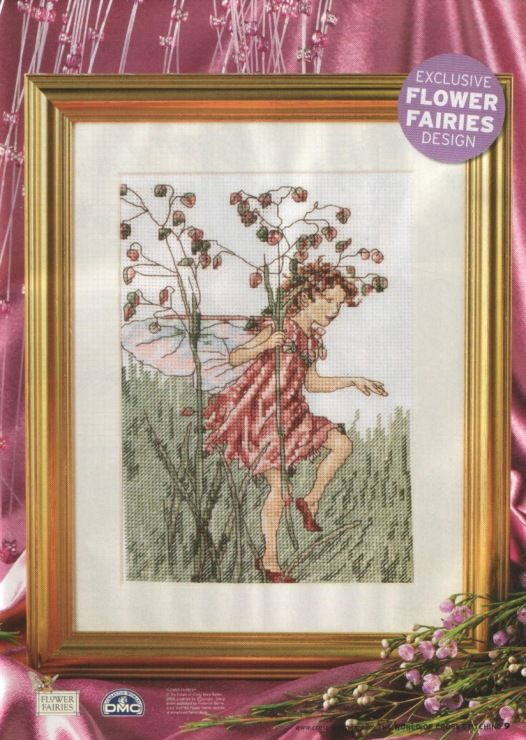 The Totter Grass Fairy The World of Cross Stitching Issue 112 July  2006 Saved