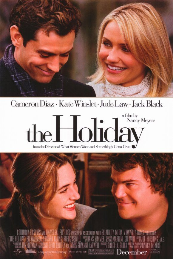 i like to watch that movie every year around christmas. it gets you in a good holiday mood. I don't conntect with cameron diaz. The character she plays is - for me- just not  plausible. I like kate winslet much more. I feel with her every single second I watch her play. her character is so likeable. perfect movie for a snowy evening!