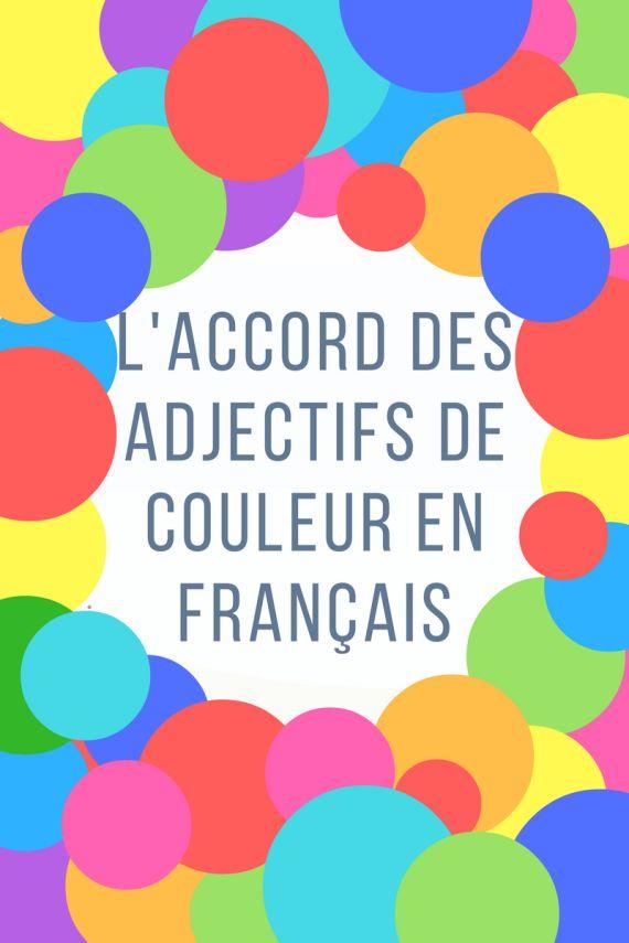 En français, les adjectifs s'accordent en genre et en nombre selon le nom qu'ils accompagnent. Par exemple: L'eau froide coule lentement. (Eau est un nom féminin, donc on écritfroid au féminin→…