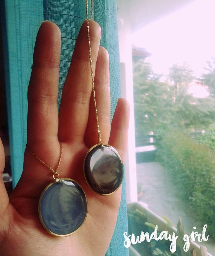 oversized handmade brass necklaces
