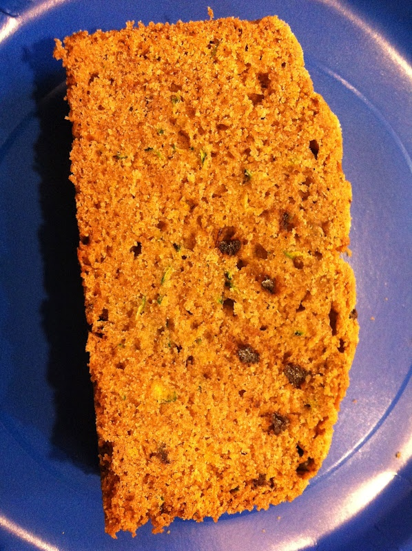 Chocolate chip zucchini cake - Tried it and the jury's still out. I'l...