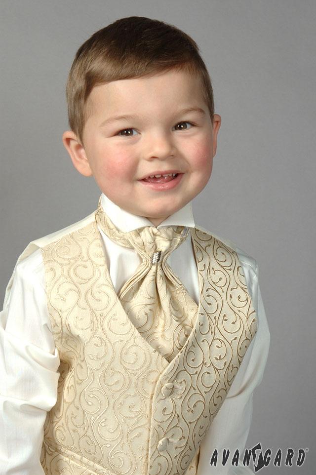 Chlapecká fraková košile s vestou a plastronem AVANTGARD.