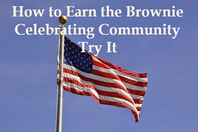 How to Earn Brownie Badges and Try Its: How to Earn the Celebrating Community Badge