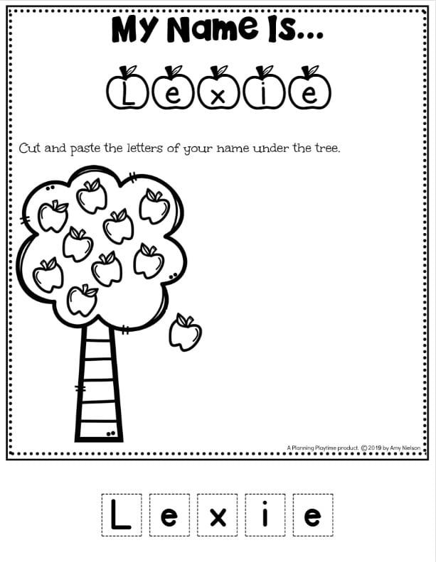 Name Tracing Worksheets - Planning Playtime Name Tracing Worksheets, Preschool  Worksheets, Preschool Names