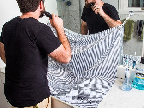 This beard trimmings catcher, discovered by the Grommet, means the days of counters being covered with beard trimmings will be a thing of the past.