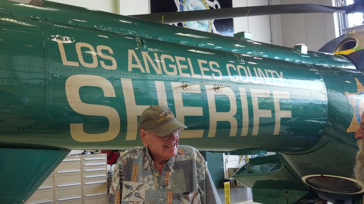 Eurocopter Super Puma - with retired LA County Sheriff pilot - one of the first