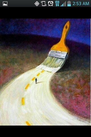Paint  ur own path