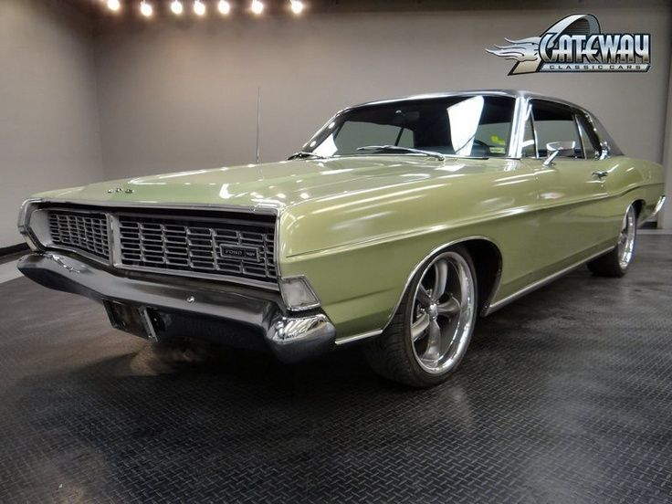 1968 Ford LTD For Sale in Fairmont City, Illinois   Old Car Online   See more about Old Cars, Ford and Cars.