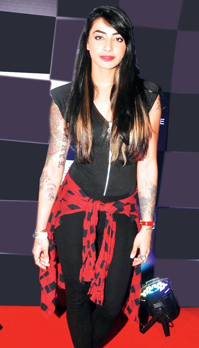 VJ Bani at Ankit Tiwari's live concert. #Style #Page3 #Fashion #Beauty