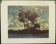 Group Of Seven Ltd Art Print - In Algonquin Park - TOM THOMSON |  $29.99
