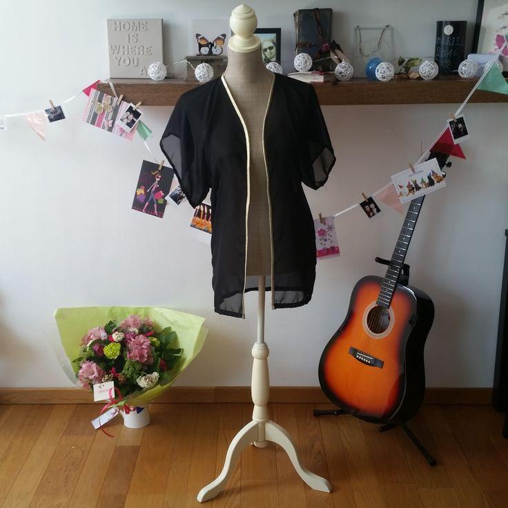 Miss Pixie's Blog: Pin it and make it #5: Kimono jasjes