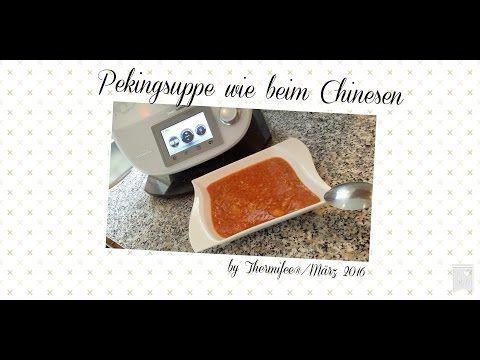 Thermomix® TM 5 - Pekingsuppe wie beim Chinesen - YouTube