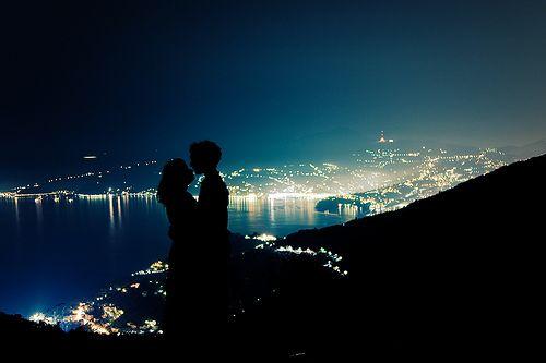 こんな夜景のデート