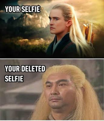 Trying to get the perfect selfie e lot of peoples are struggling, for one good photo they delete at ...