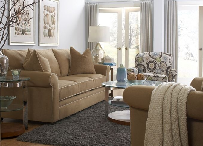 The Contemporary Accent Chair Of Havertys Taylor II Collection Complements Simple Classic Sofa Sunroom IdeasLiving Room