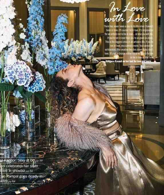 The Queen of Fashion at Filmfare cover – Kangana Ranaut