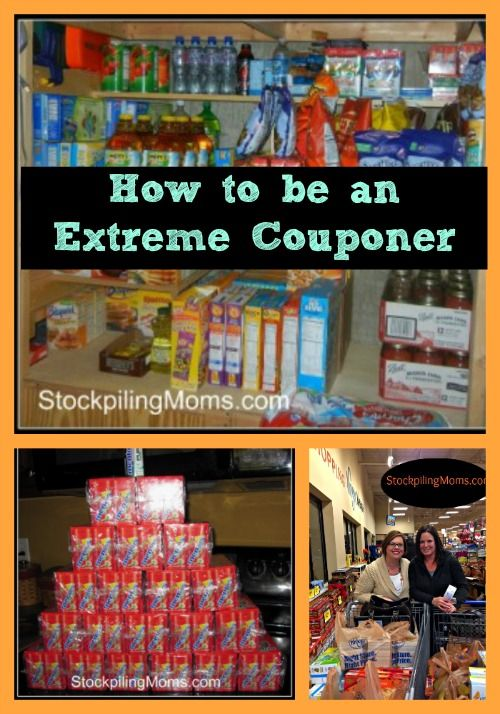 How to be an Extreme Couponer and save big!