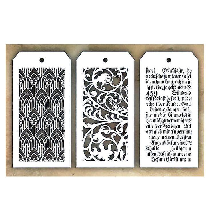 3 stencils included. Creative Devotion Stencil set