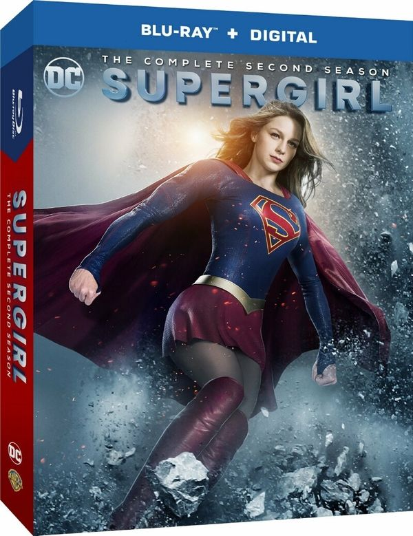 'Supergirl' Season Two Blu-Ray & DVD Artwork And Release Information