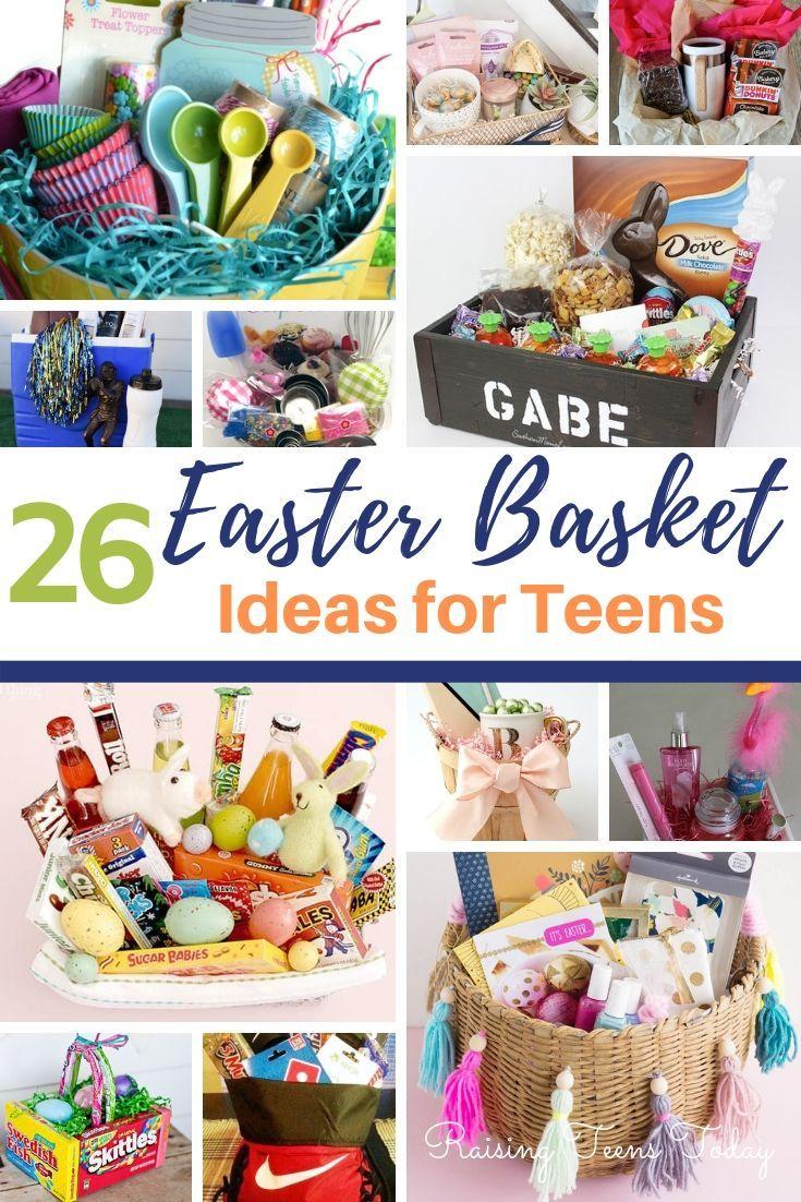 Easter Basket Best Things To Use As Easter Basket Stuffers Boys Easter Basket Easter Basket Diy Teenager Easter Basket