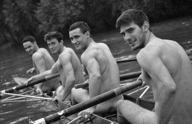 Nudité et beaux fessiers : le calendrier qui donne une autre idée de l'aviron
