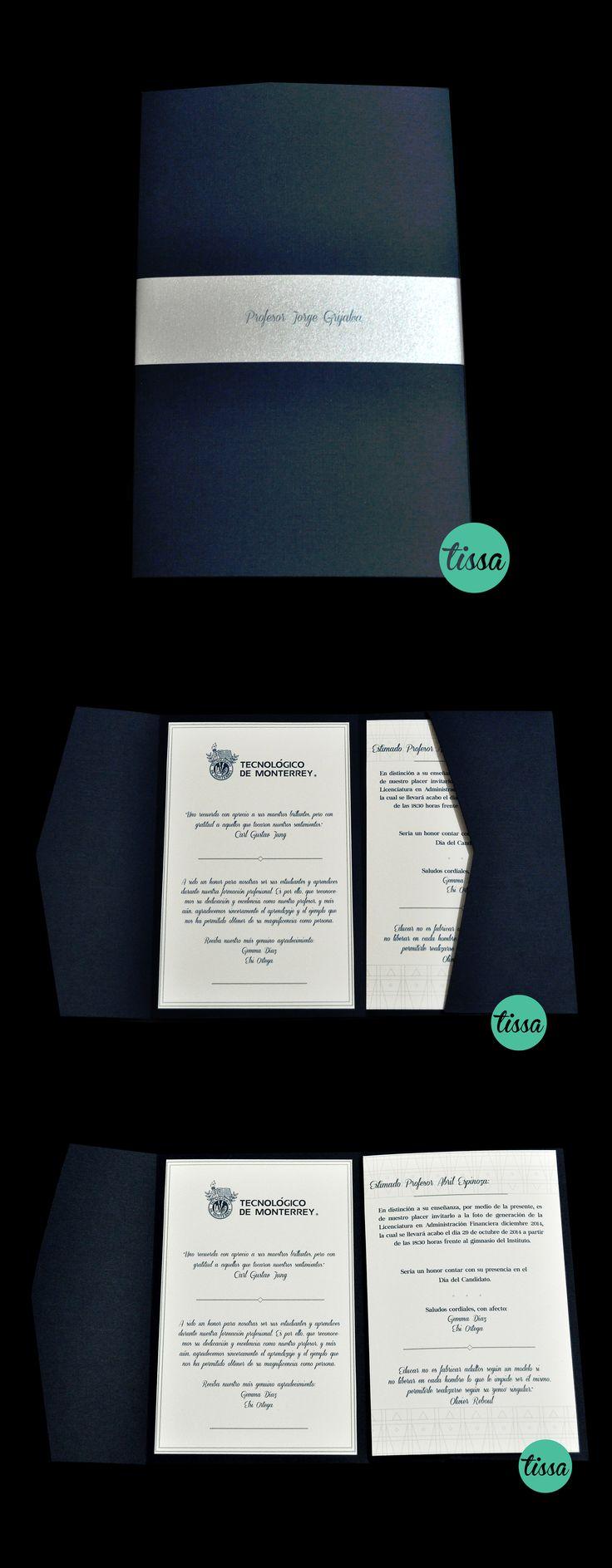INVITACIONES PARA GRADUACION #invitacion #graduacion #prom #party #diseño #tissa #design #cuu #universidad #fiesta #love