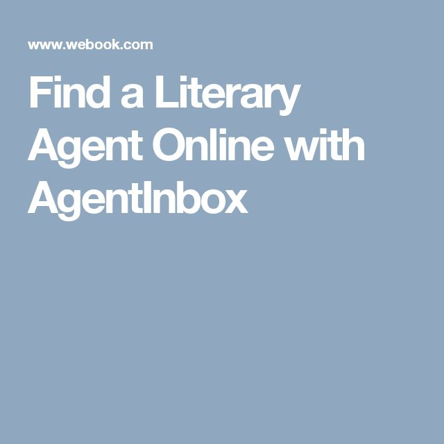 how to find a literary agent in canada