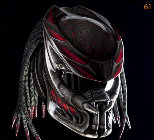 PREDATOR HELMET CUSTOM BANDUNG-DOT APPROVED | PanjiHelmet -  on ArtFire