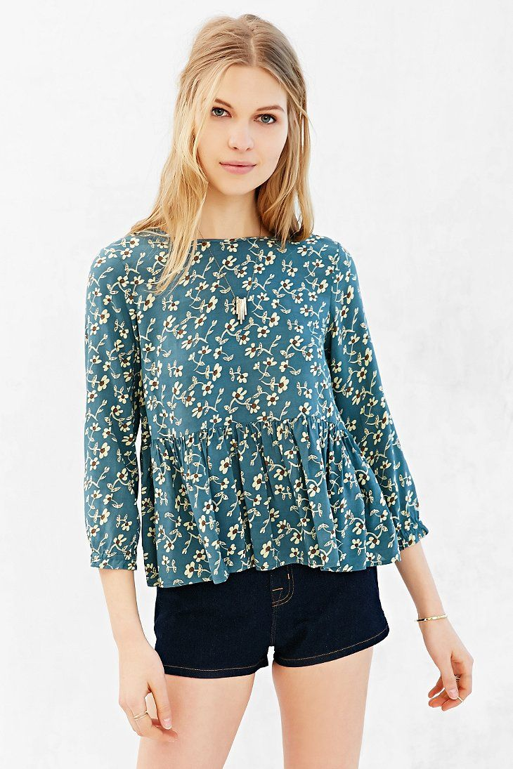 Cooperative Baby Doll Blouse - Urban Outfitters - 208 Best Clothes Images On Pinterest Urban Outfitters, Clothes