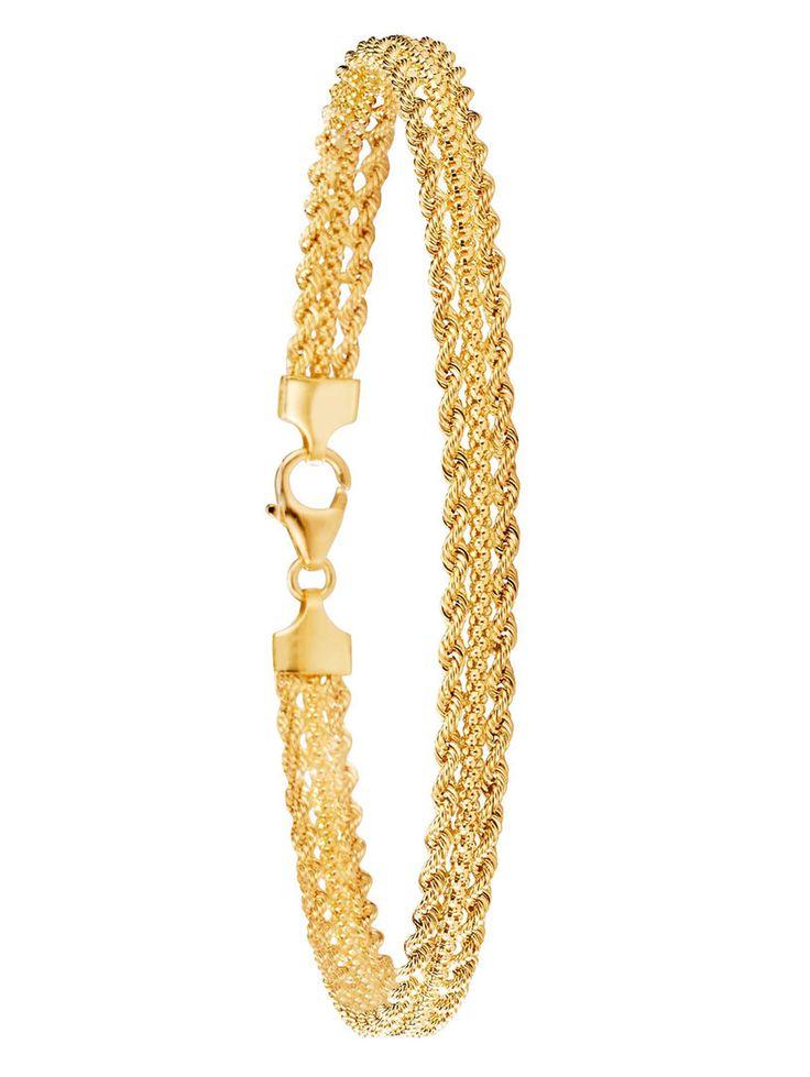 Armband in Gelbgold 750 Diemer Gold Gelb ist eines von hunderten Schmuckstücken. Entdecken Sie die Welt der edlen Accessoires und bestellen Sie Ihren Wunschschmuck direkt zu Ihnen nach Hause.