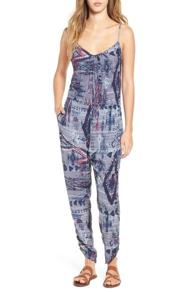 Women's Billabong 'Take Me Away' Print Jumpsuit - DealVips #sports, #girls, #sweatshirt, #sportswear, #girlswear, #ring, #jewelry, #platinum, #computers, #dresses, #fashion, #pillow, #shoes, #lifestyle, #Jumpsuits, #trending, #King Pillow, #Standard Pillow, #Key Locks, #Banfield Mid Lace Leather Boots, #Side Zip Leather Knee-High Boots, #Diamond Cluster Ring, #King Comforter, #Bloom Standard Shams, #Queen Comforter Set, #Accidental Protection Plan, #Suki Tie-Dye Jumpsuit, #Pc. Window…