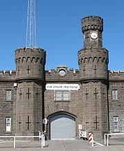 """Prison Pentridge (nicknamed """"The Bluestone College"""", """"Coburg College"""" or the """"College of Knowledge"""") is today remembered as one of the most famous and secure prisons in the Australia. During its 147 yearlong service it managed to held some of the most notorious and violent criminal offenders from Victoria and rest of continent, most notably Edward """"Ned"""" Kelly – famous criminal and folk hero of Irish Australian resistance against the Anglo-Australian ruling class.  Now closed"""