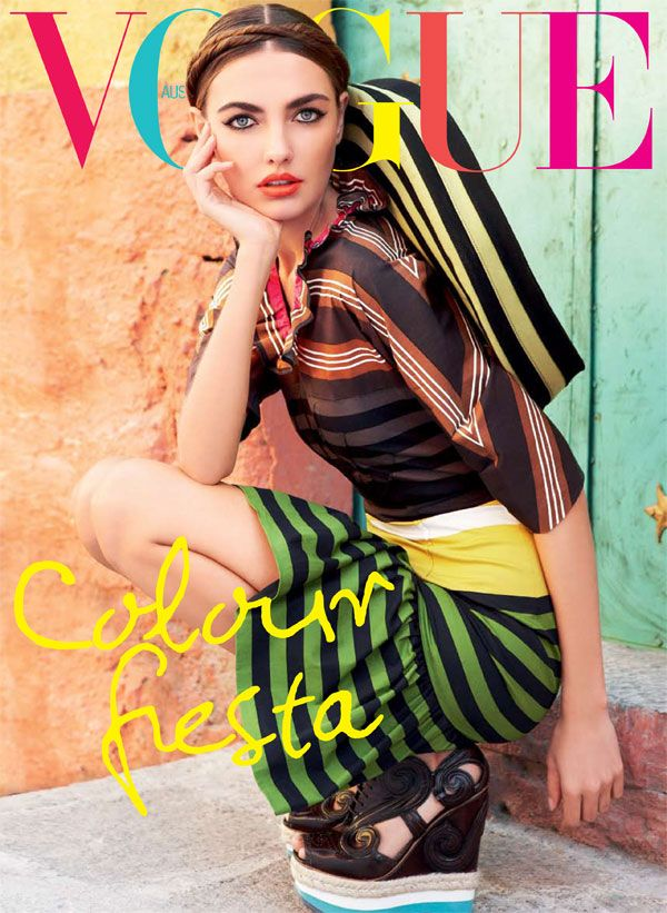 Alina Baikova | photographed by Nicole Bentley | styled by Meg Gray | Vogue Australia (March 2011)