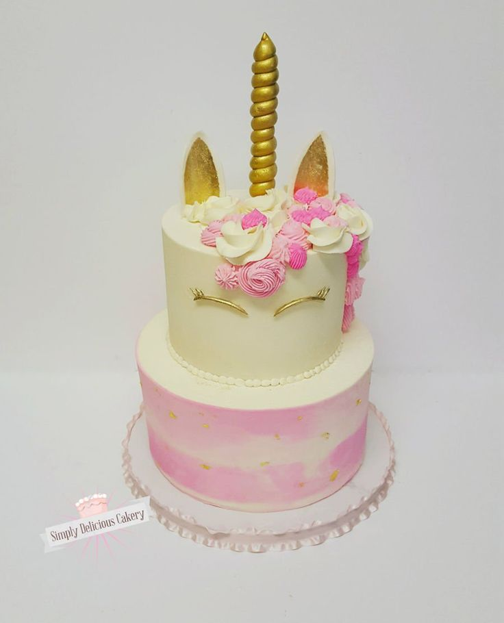 Unicorn 1St Birthday Cake on Cake Central
