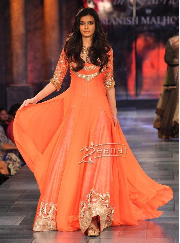 How To Sketch Anarkali Manish Malhotra Wedding Dress: Elegant Dresses Anarkali By Manish Malholtra