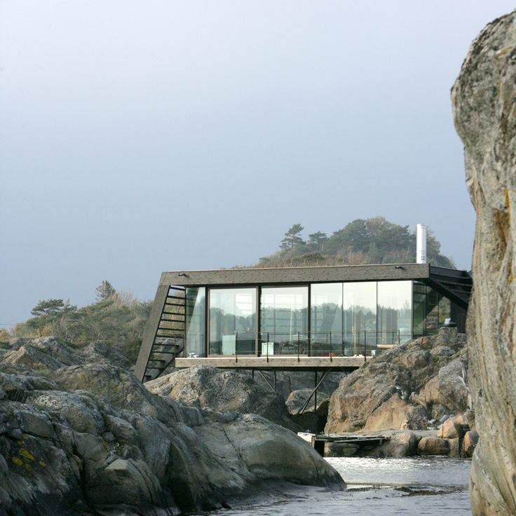 Beautiful Lund Hagem Completes Stilted Cabin On Norwegian Island. House On StiltsGrove Summer ... Amazing Design