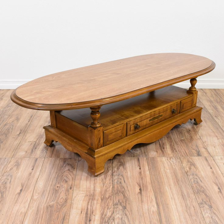 25 Best Oval Coffee Table Wood Images On Pinterest Oval