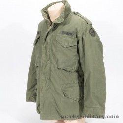 M65 Field Jacket OG-107 Size: Medium-Regular