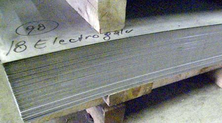 Sheet Steel is a product that is ideally suited for different types of commercial architectural or industrial applications. HB Steel offers commercial quality steel sheets, galvanized angles. Commercial quality sheets are versatile enough to be used for a variety of purposes that require bending, punching, welding and lock forming.