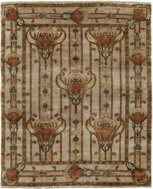 Field Lillies (PC-56A) 6 x 9 Area Rug by the Persian Carpet Buy Online amirarugs.com $2,300