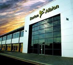 burton albion -