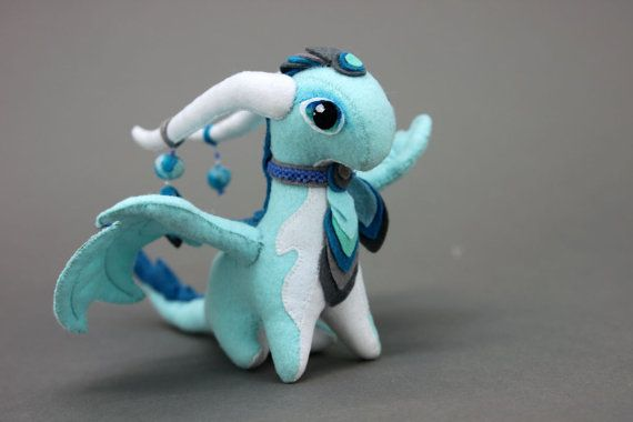 MADE TO ORDER Soft toy dragon fantasy plush animal textile toys Soft sculpture children, fabric toy, handmade, favorite toy