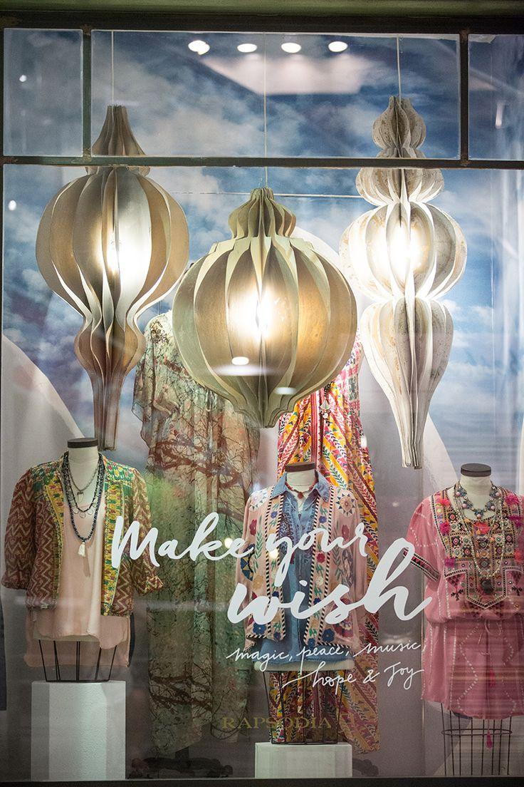 MAKE YOUR WISH • Windows Display   We Love   Style   Fashion   Rapsodia.com
