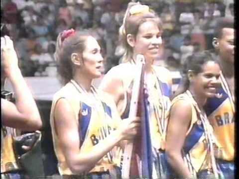 Cerimônia de Premiação - Basquete Feminino - Jogos Panamericanos - Havan...