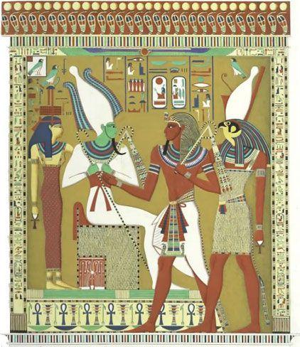 horus egyptian god | Qué significa esto? –murmuró Ra-Atum-. ¿Es que acaso la Enéada ...