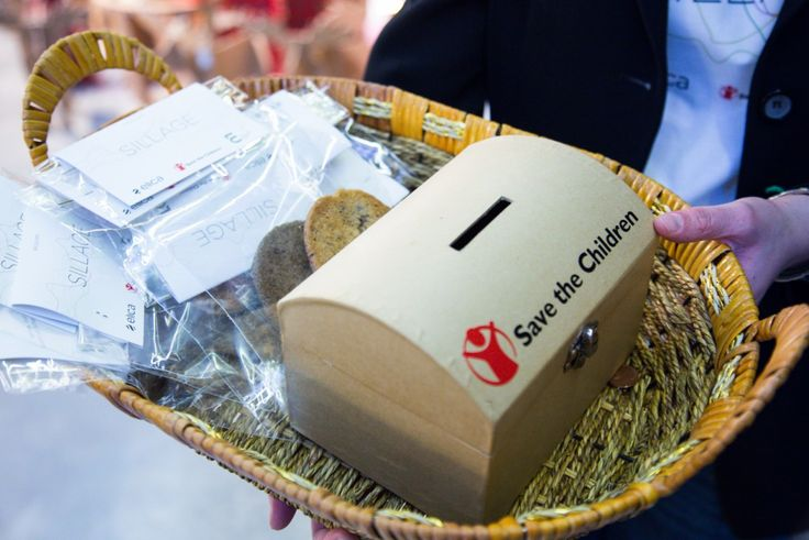 Alice Agnelli prepared tasty cookies for the Marie's Silage and Save the Children event. Photo by Alessandro Madami
